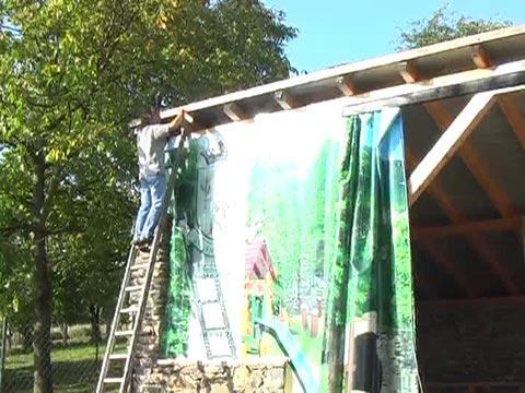 Gyufa tudósítása a festő táborból