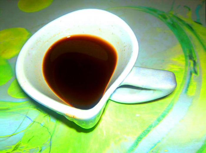 elfolyó kávé