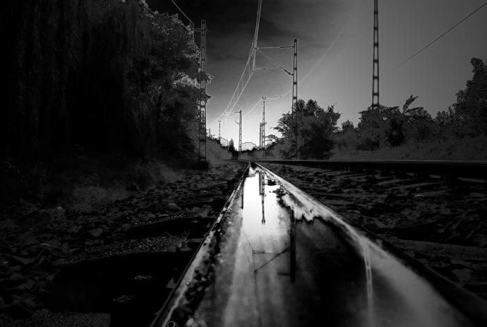 A vasútsoron