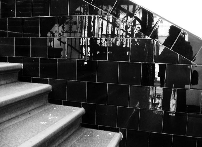 Lépcsőházban