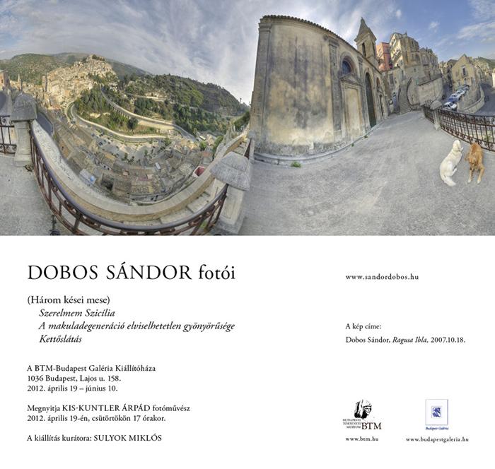 Három kései mese - Dobos Sándor kiállítása
