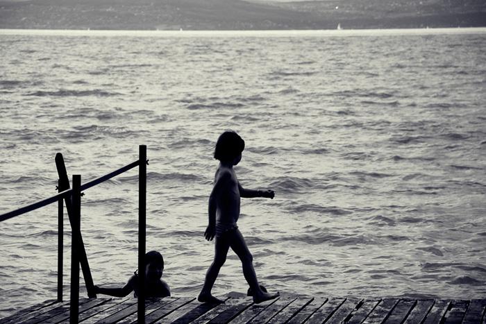 Régen a Balatonon