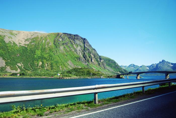Norvég táj