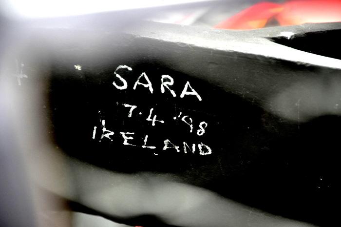 Sara from Ireland