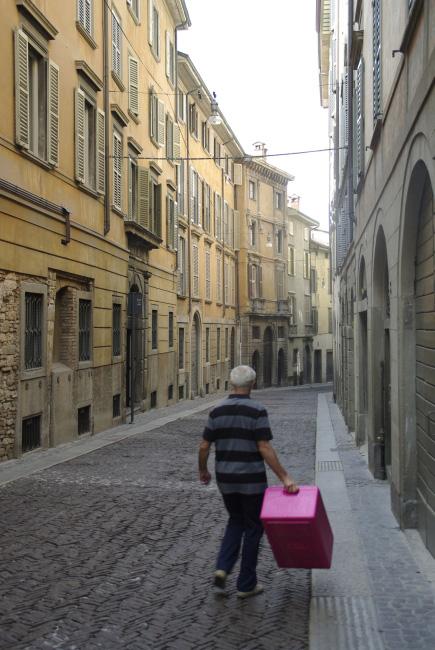Bergamo reggel