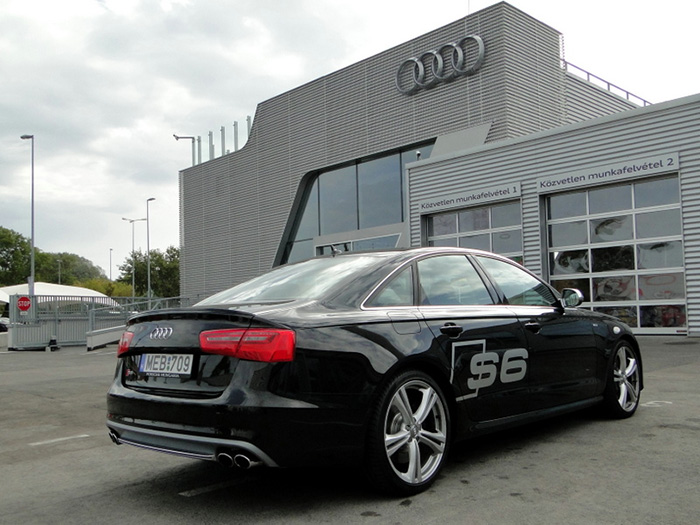 Audi S6 teszt
