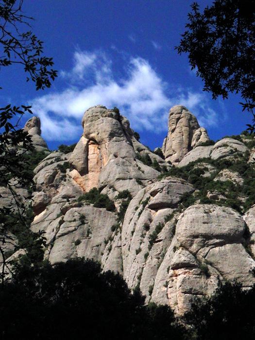 Monserrate sziklái