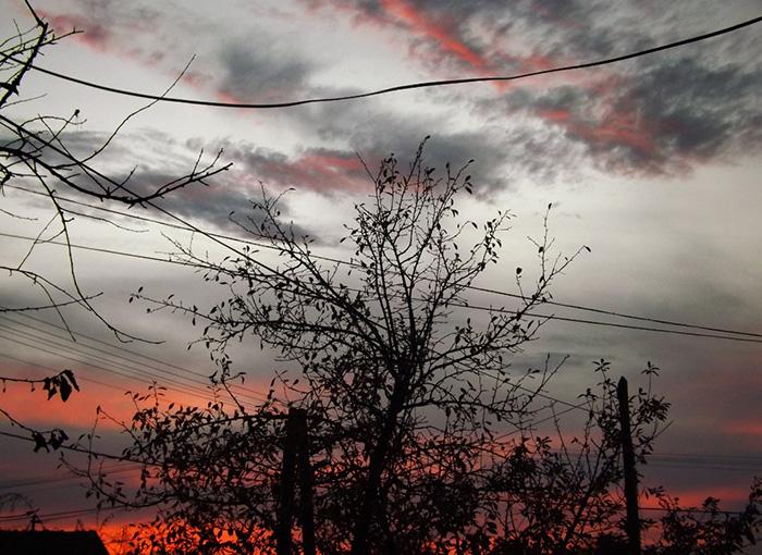 Újabb naplemente