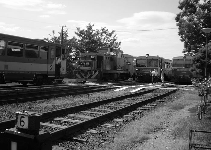 Befutottak a vonatok Okányban