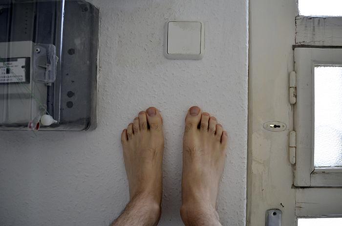 A láb mindig kéznél van