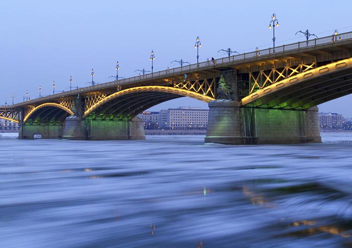 A Duna télen