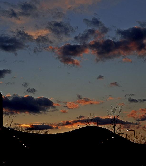 Felhő a hegyek felett