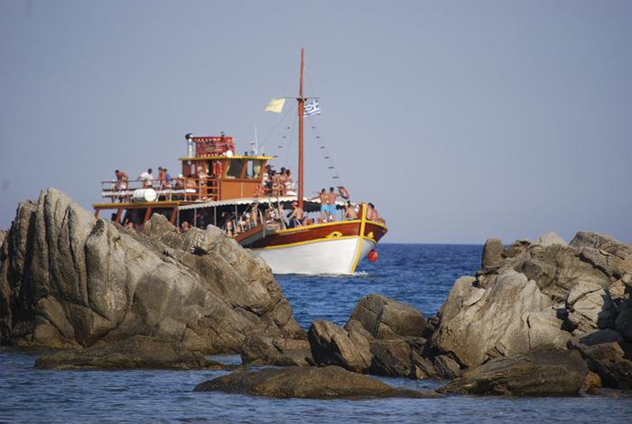 Hajón, Strand, és Forróság