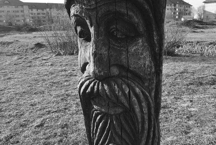 Fából öregember