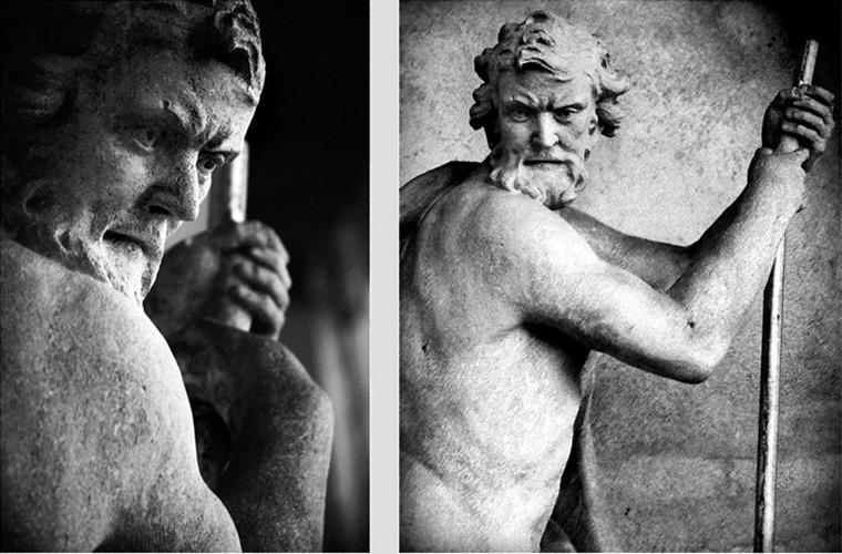 Egy szobor arcai