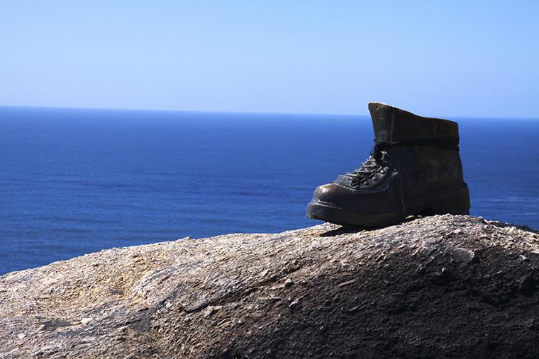 Cabo, Fisterra. Spanyolország