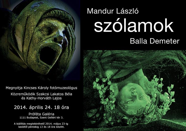 Balla Demeter - Mandur László: Szólamok