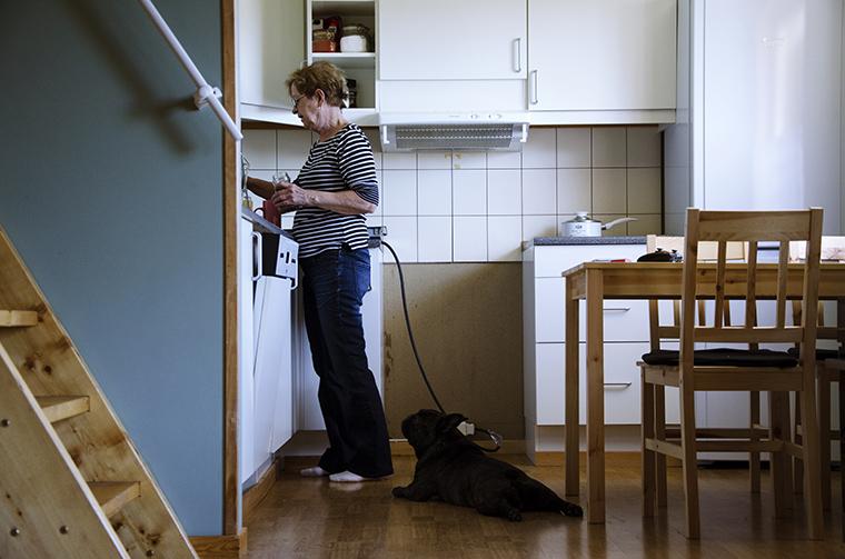 mama a konyhában