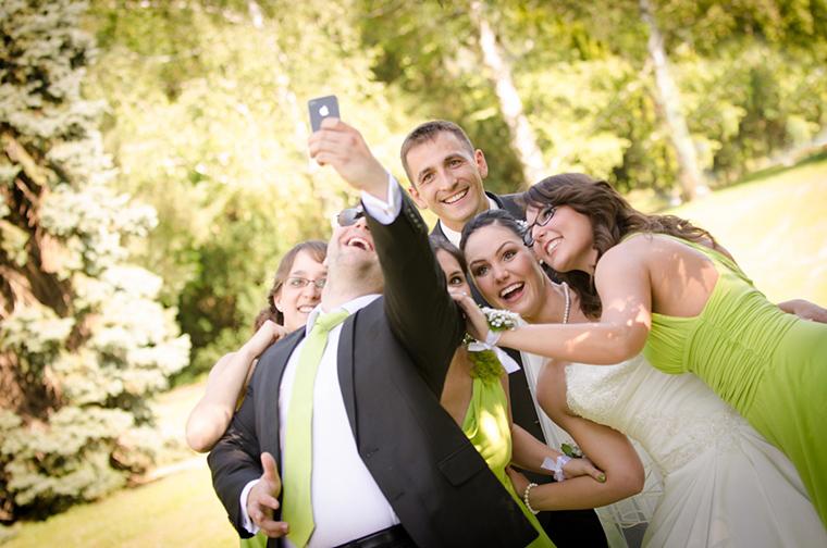 Esküvői selfie