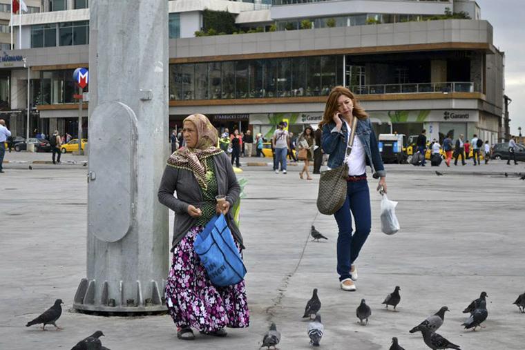 Istanbul - nők