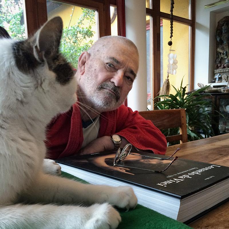 Gazda és macskája