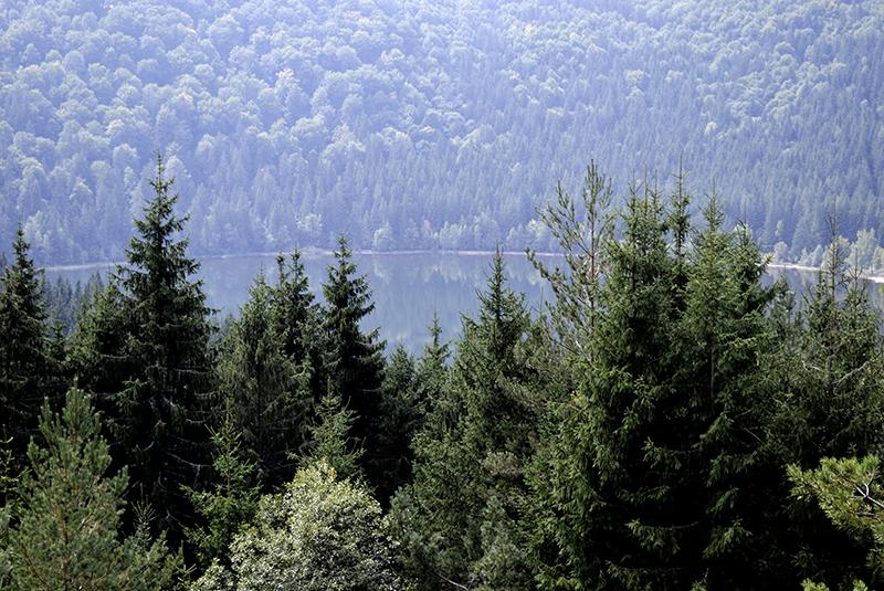 Szent Anna-tó fentről