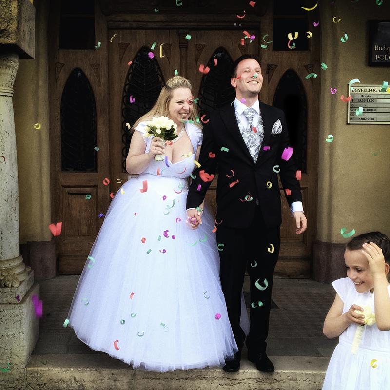 365/321 - Mó és Hami esküvője