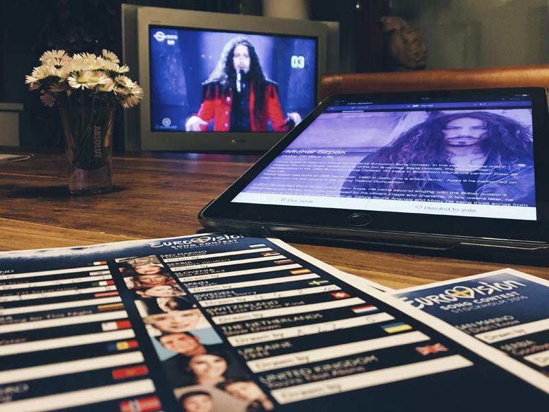 365/349 - Eurovision party