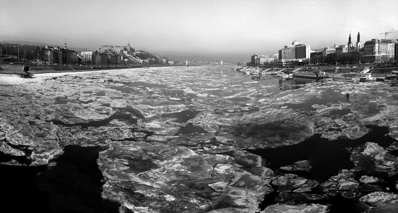 Az én jeges Duna fotóm