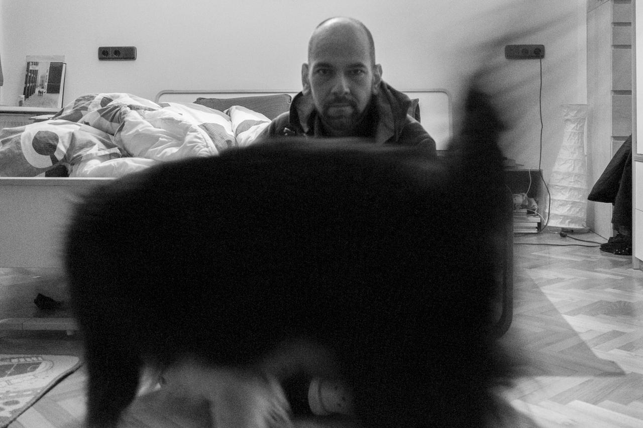 kutya és én
