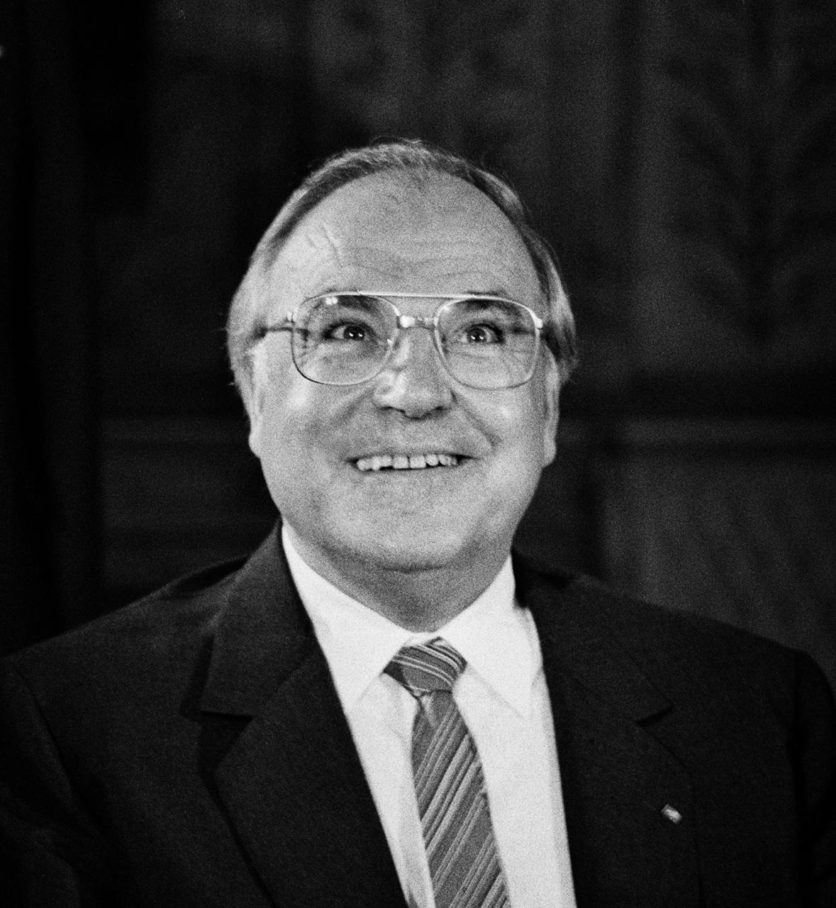Helmut Kohl (1930-2017) az Országházban, 1984. június 21-én