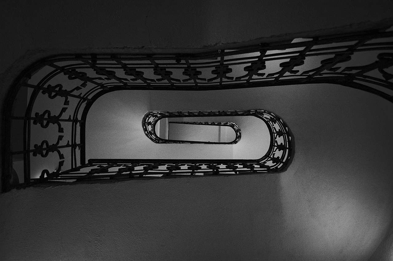 lépcső a ...