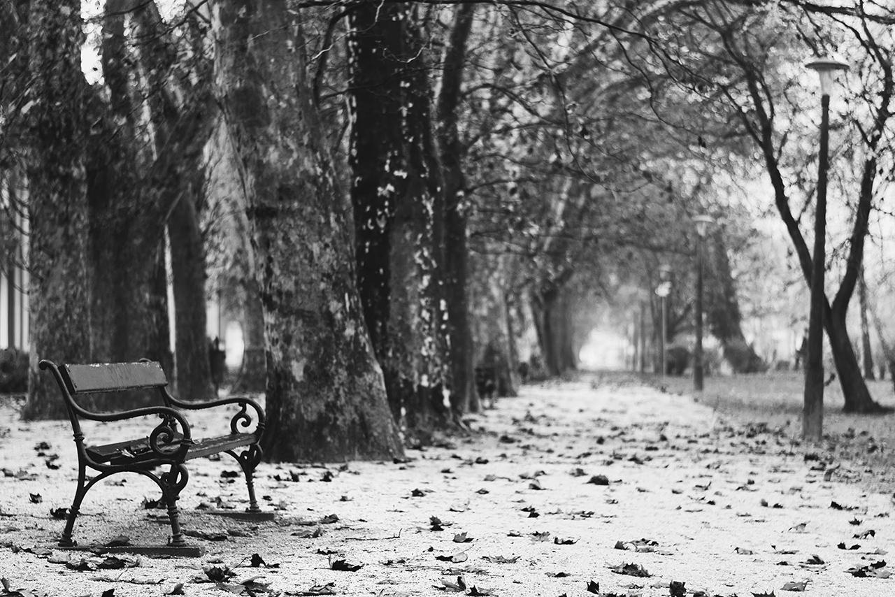 sétány magány