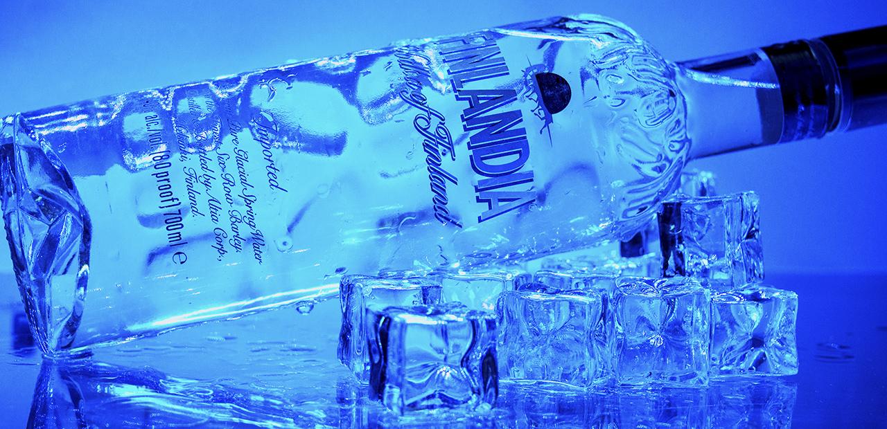 Vodka jéggel