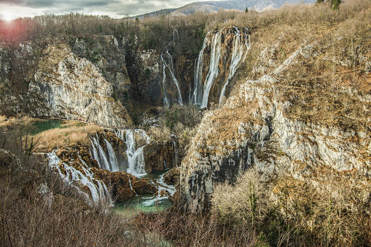Plitvice Januárban