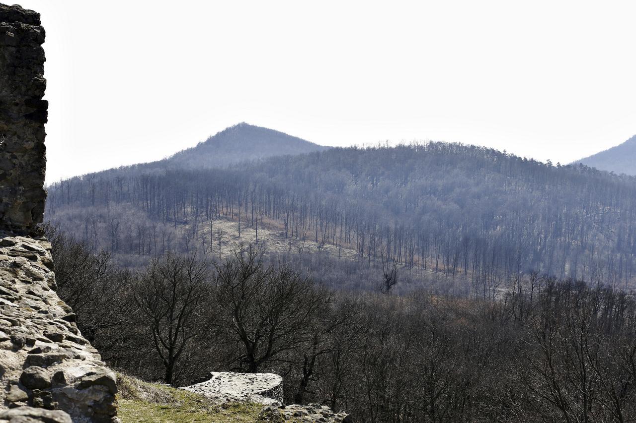 Kilátás a várfalról / Drégely vára