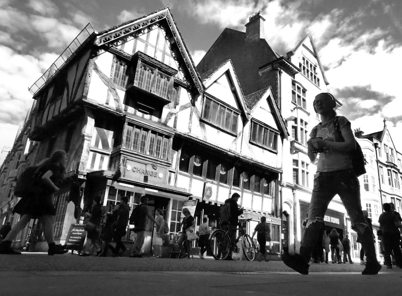 Oxford - Cornmarket street