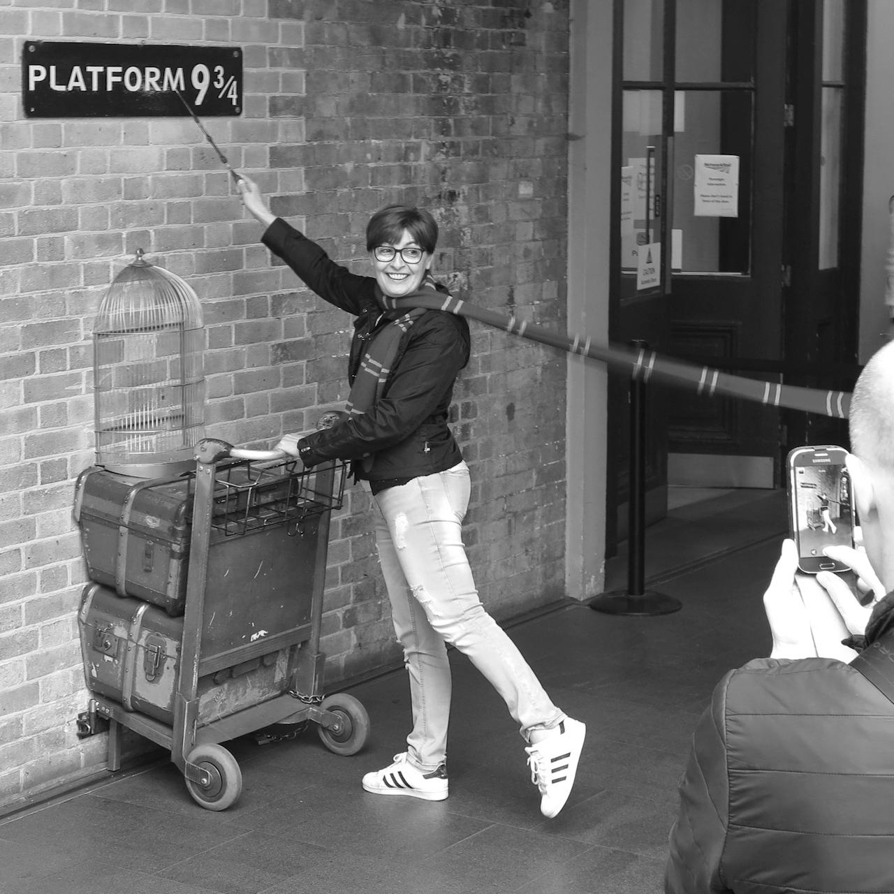 """A """"Platform kilencésháromnegyed""""-nél"""