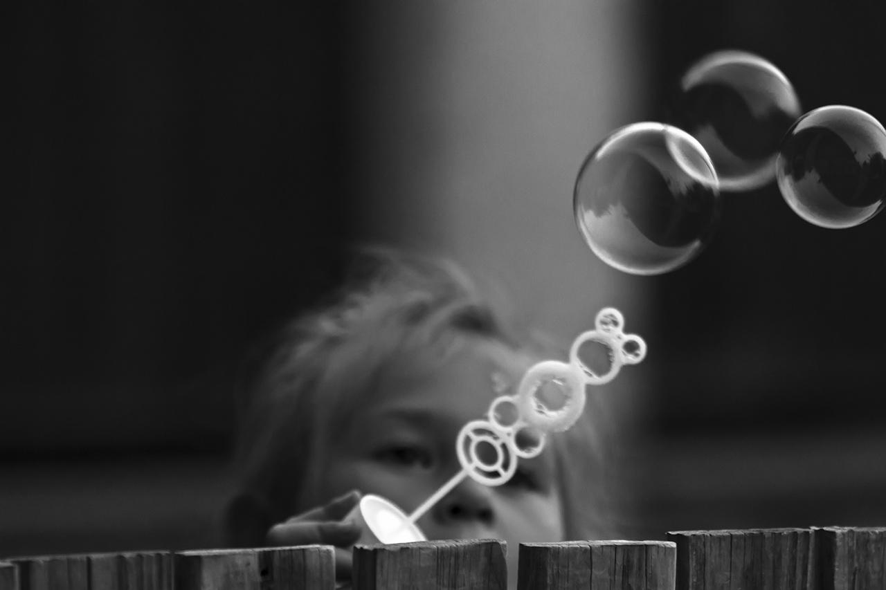 Fafej fotós - Kiszaladt egy bubi