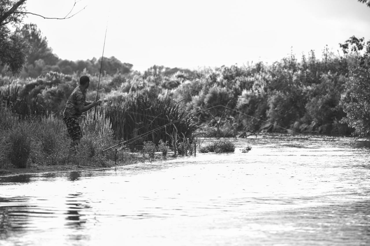 Horgász az Ipolyon