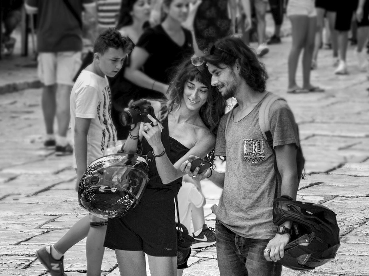 Turista pár