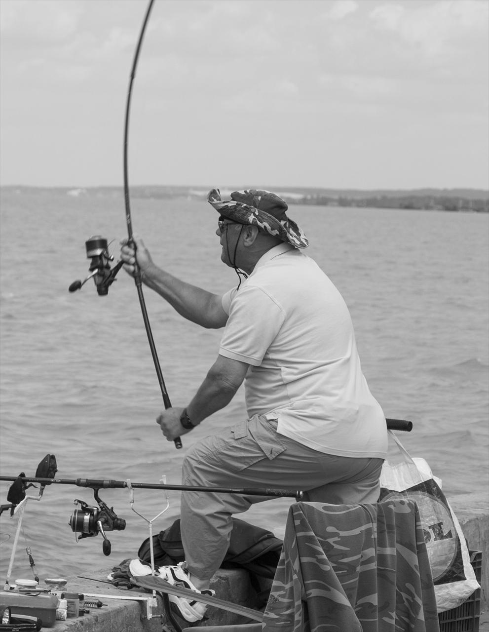Balatoni horgász