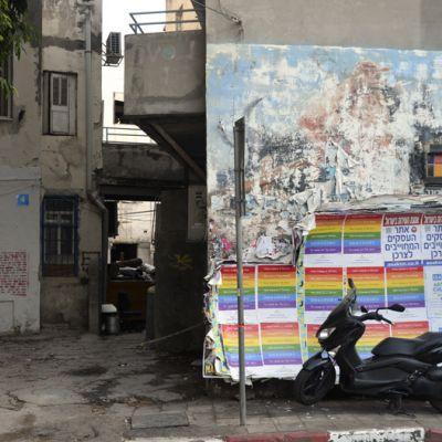 365/223 - Tel Aviv utcáin V.