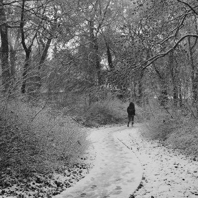 Téli futópálya