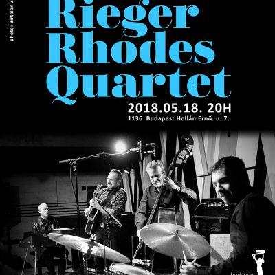 Újra Rieger Rhodes koncert!