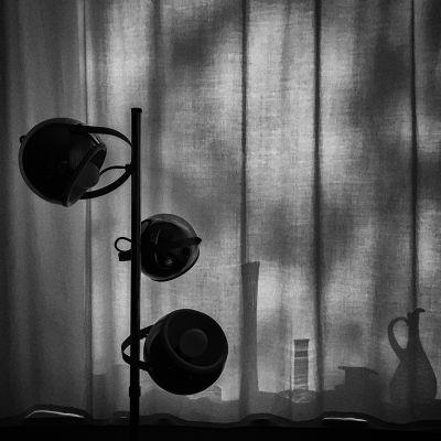 Lámpa árnyékkal