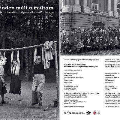 Fortepan kiállítás a Nemzeti Galériában
