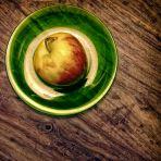 365/252 - Zöld tányér